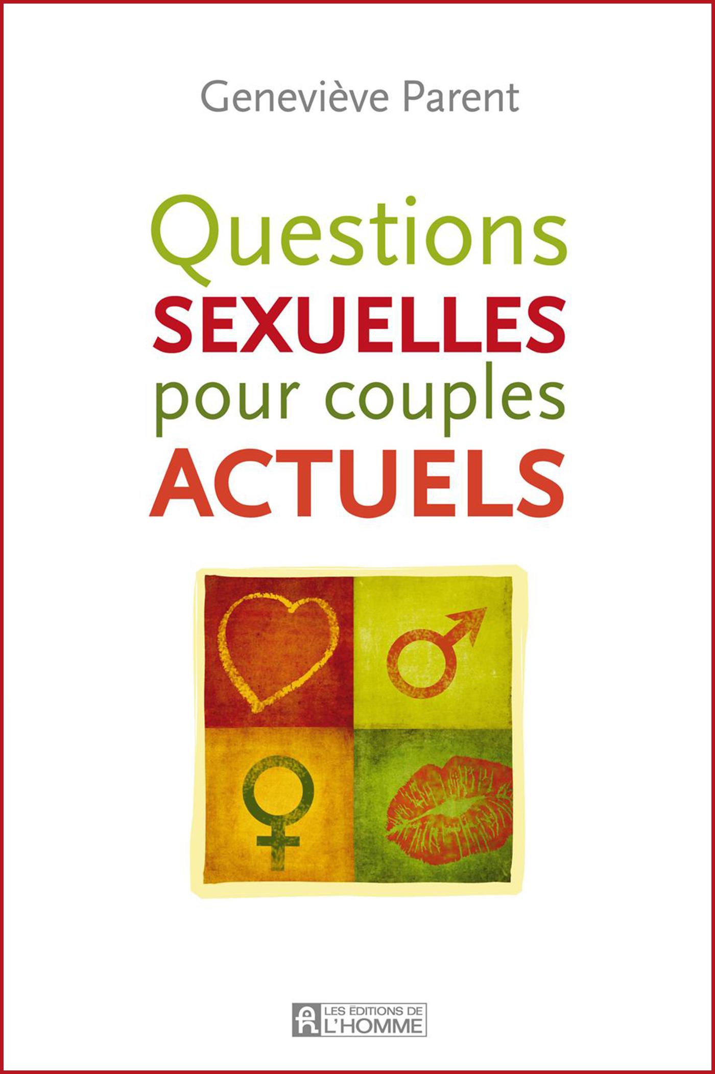 questions sexuelles pour couples actuels livre en duel ou en duo valerie sentenne intello stephane lecault artiste couple
