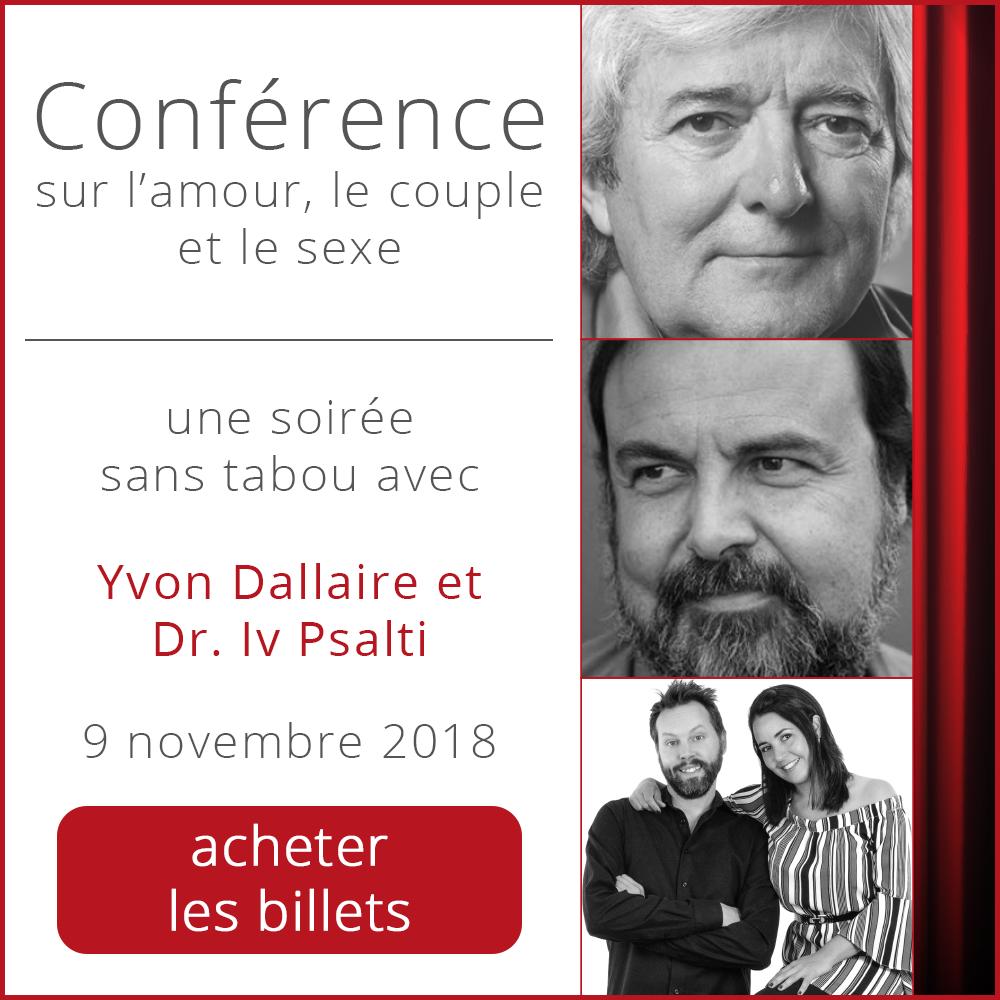 conference psycho sexo yvon dallaire iv psalti valerie sentenne rive nord