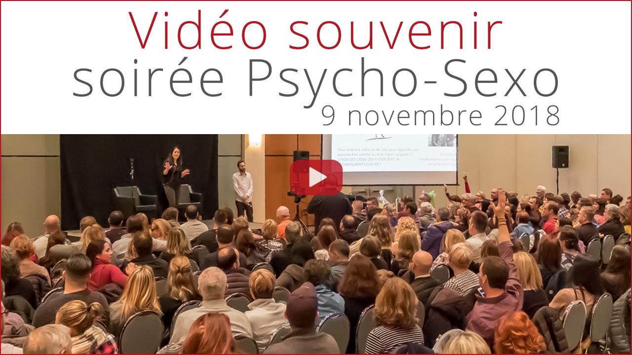 Vidéo souvenir soirée-conférence Psycho-Sexo play