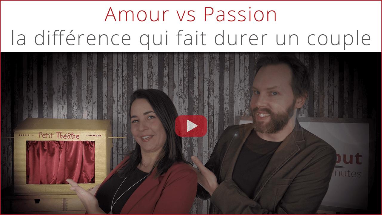 Amour vs Passion - la différence qui fait durer un couple - marionnettes blog